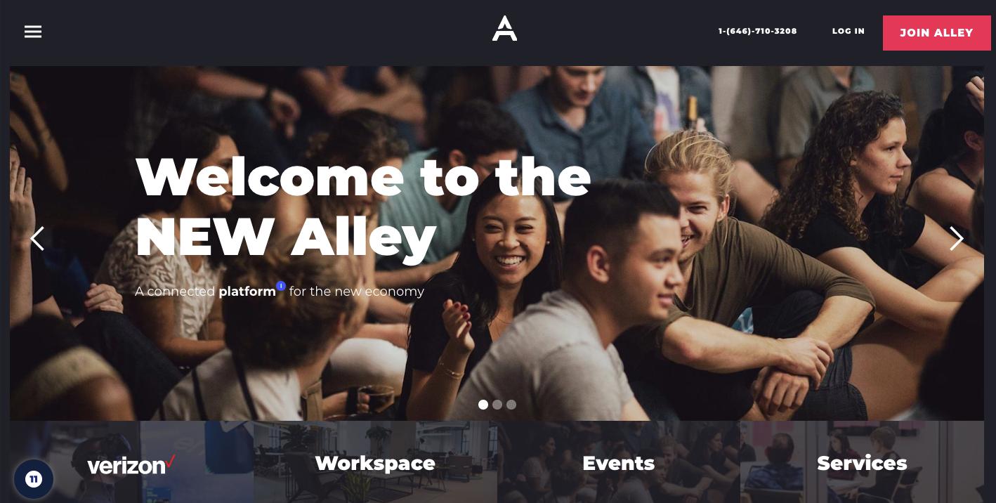 alley website